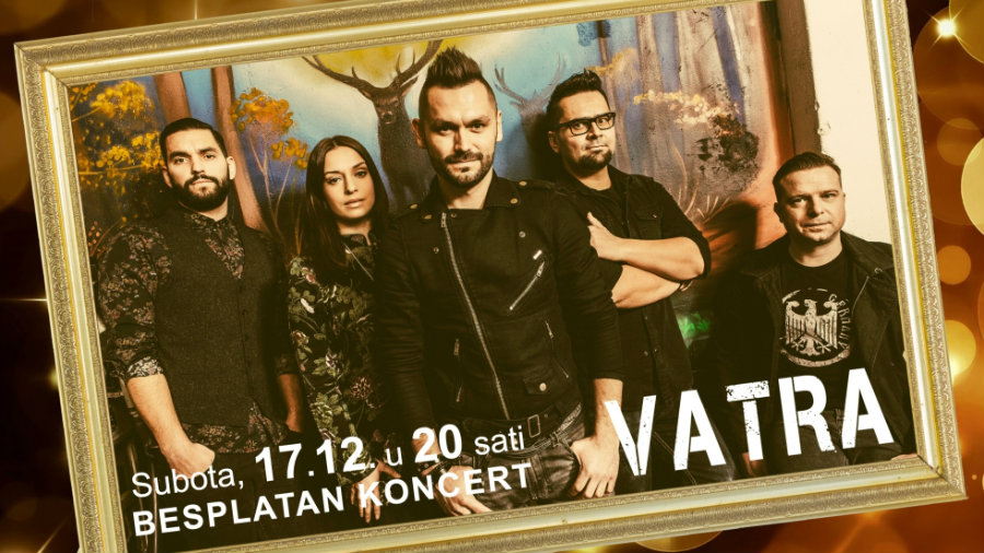 "CITY COLOSSEUM LATE NIGHT SHOPPING I VELIKI KONCER GRUPE ""VATRA"""