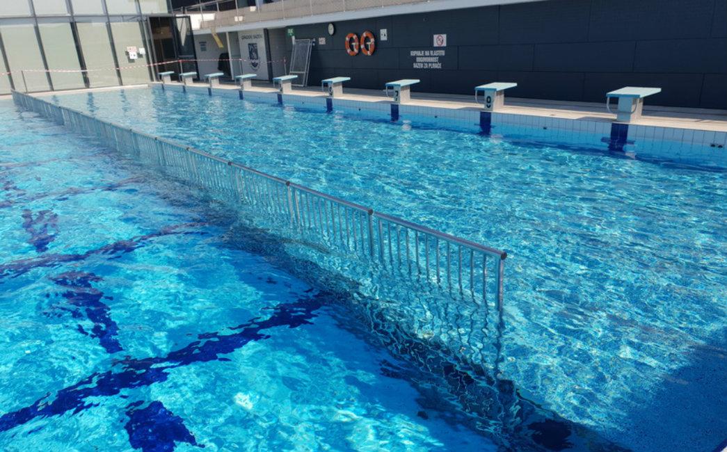 Za najmlađe Brođane postavljena platforma za kupanje