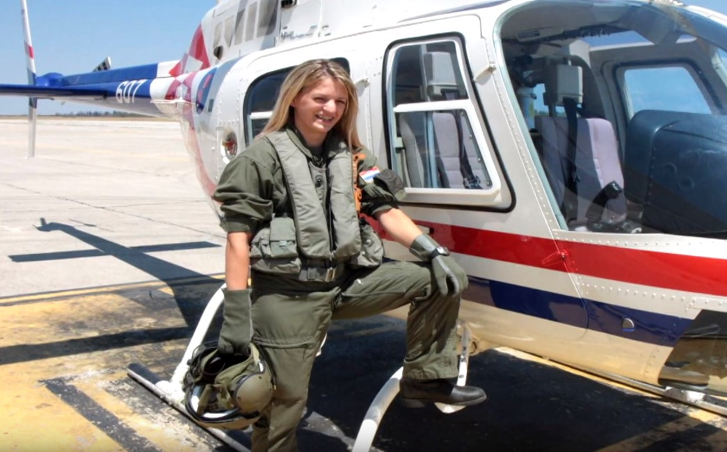 Antonija Trupinić prva vojna pilotkinja iz BPŽ